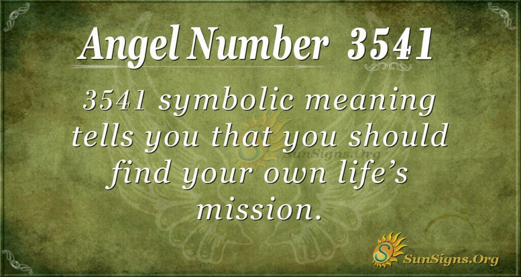 3541 angel number