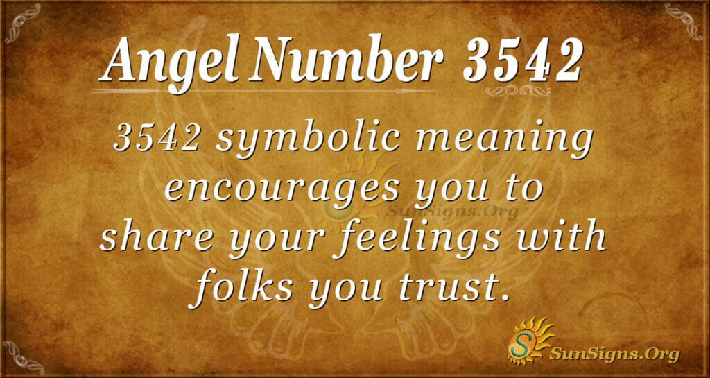 3542 angel number