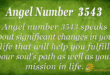 3543 angel number