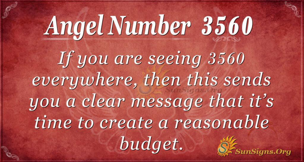 3560 angel number