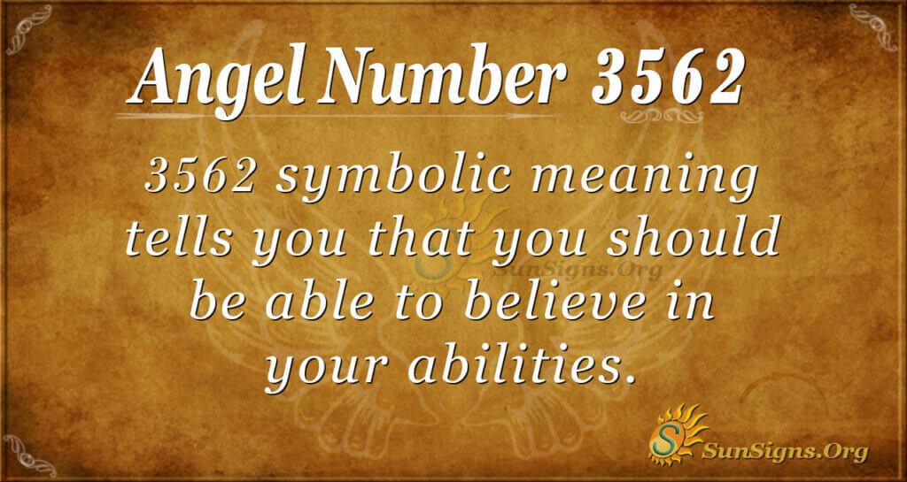 3562 angel number