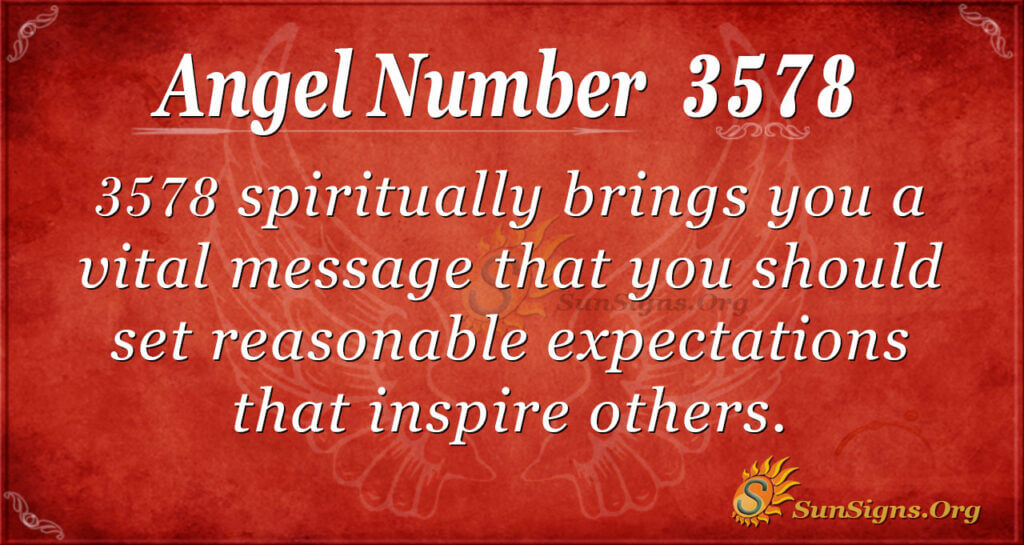 3578 angel number