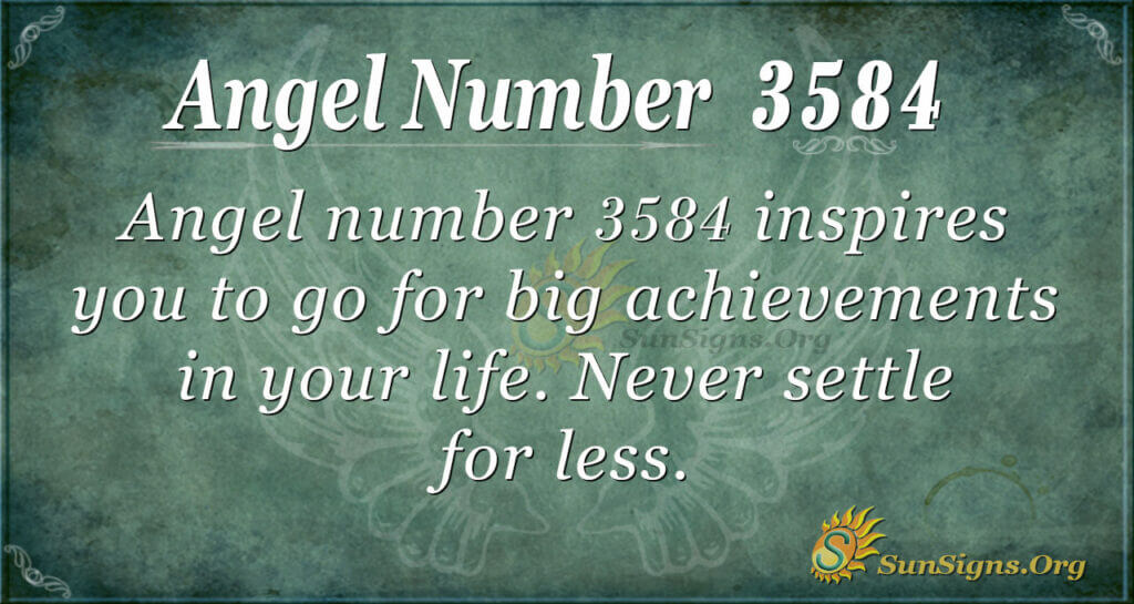 3584 angel number