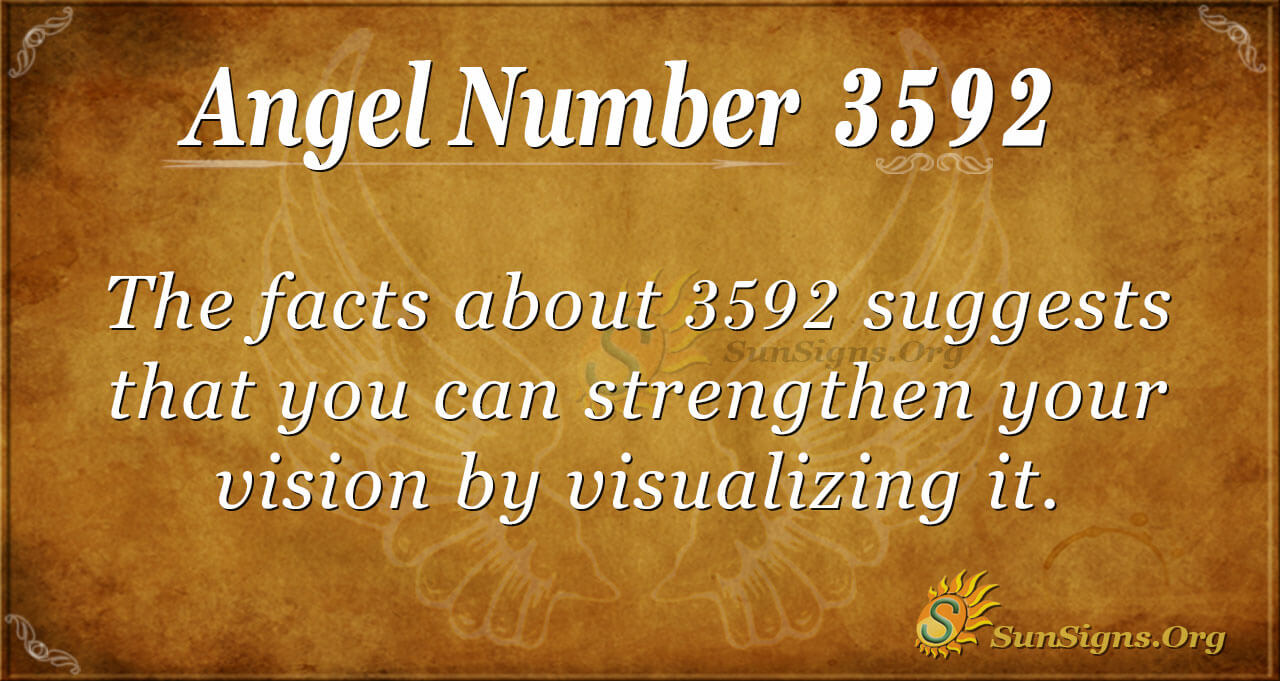Angel Number 3592 Meaning: Plan For Your Future | SunSigns.Org