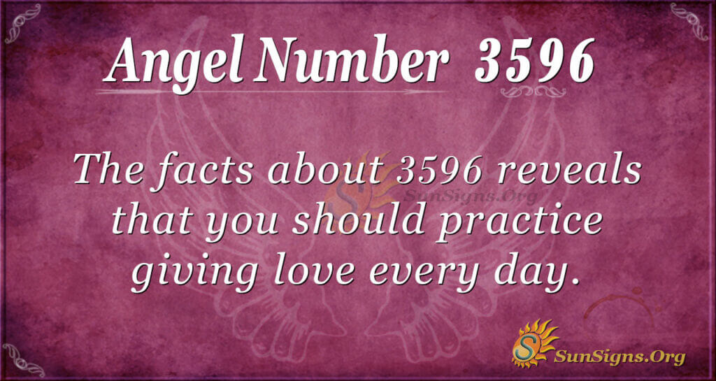 3596 angel number