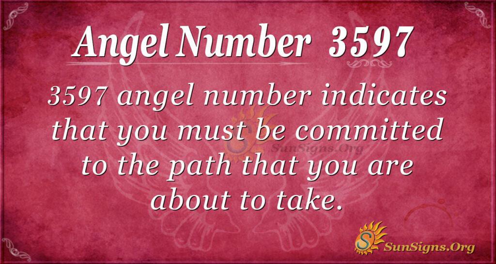3597 angel number