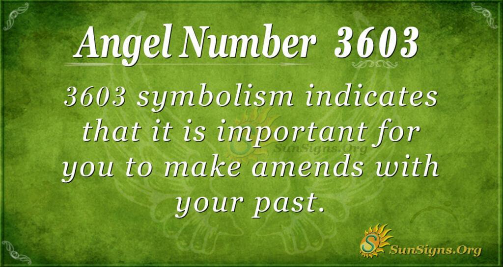 3603 angel number