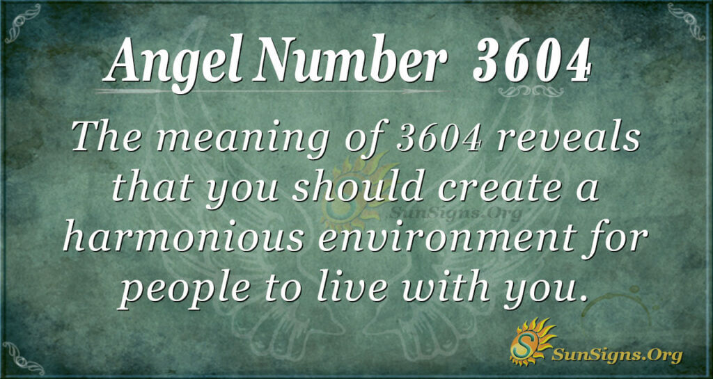 3604 angel number