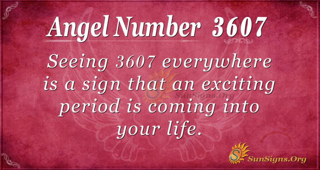 3607 angel number