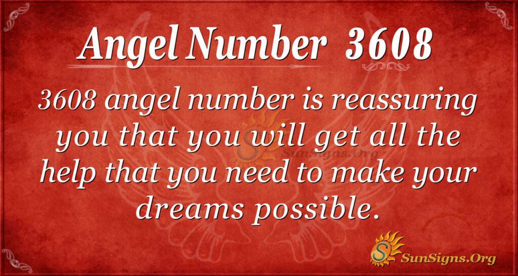 3608 angel number
