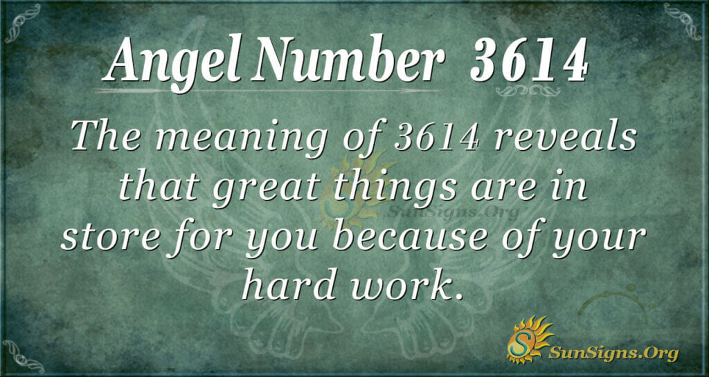 3614 angel number