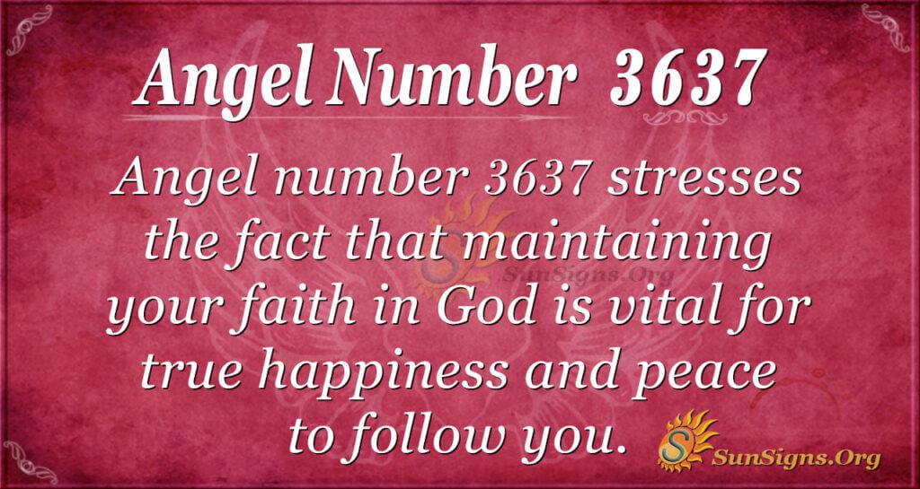 3637 angel number