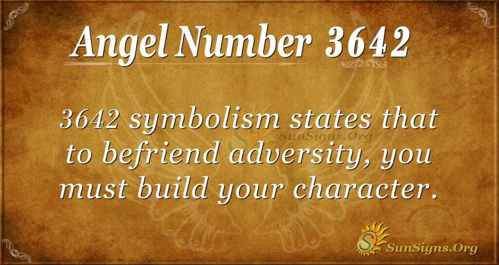 3642 angel number