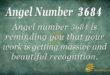 3684 angel number