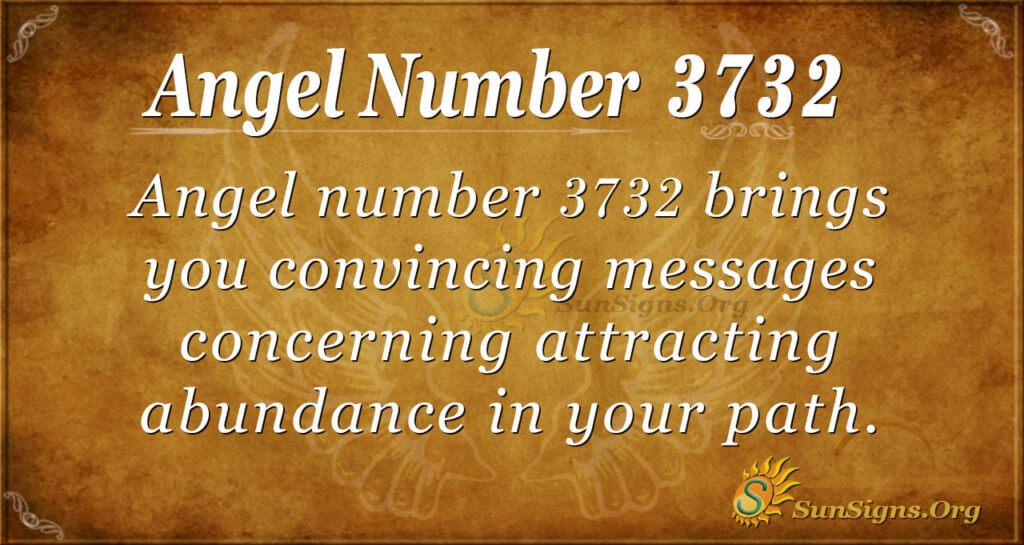 3732 angel number