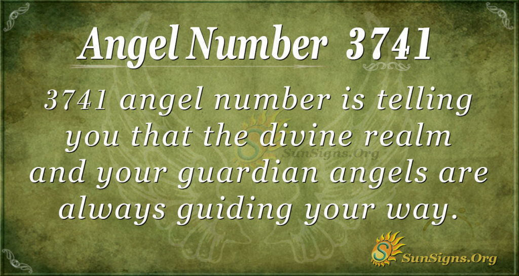 3741 angel number