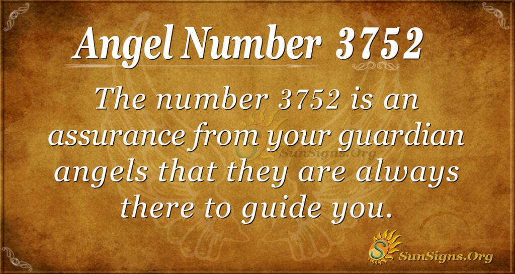 3752 angel number