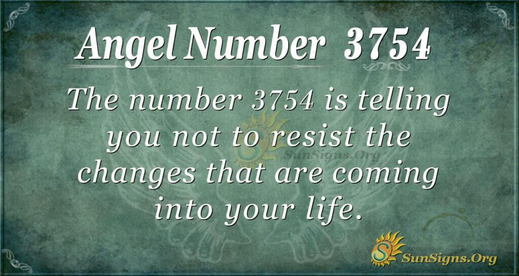 3754 angel number