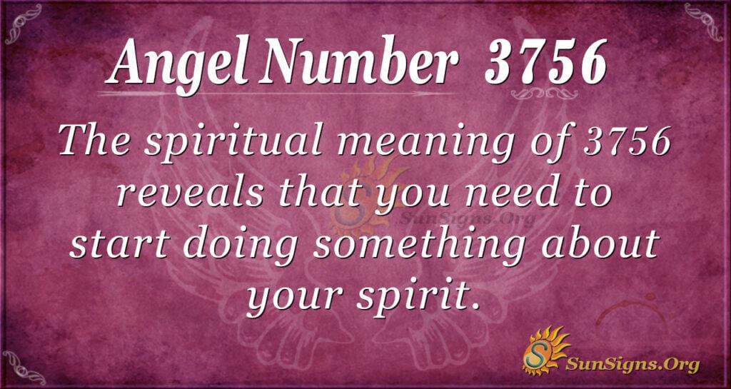 3756 angel number