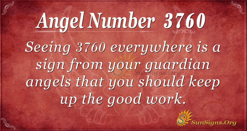 3760 angel number