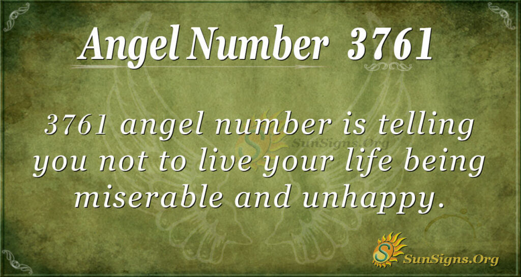 3761 angel number