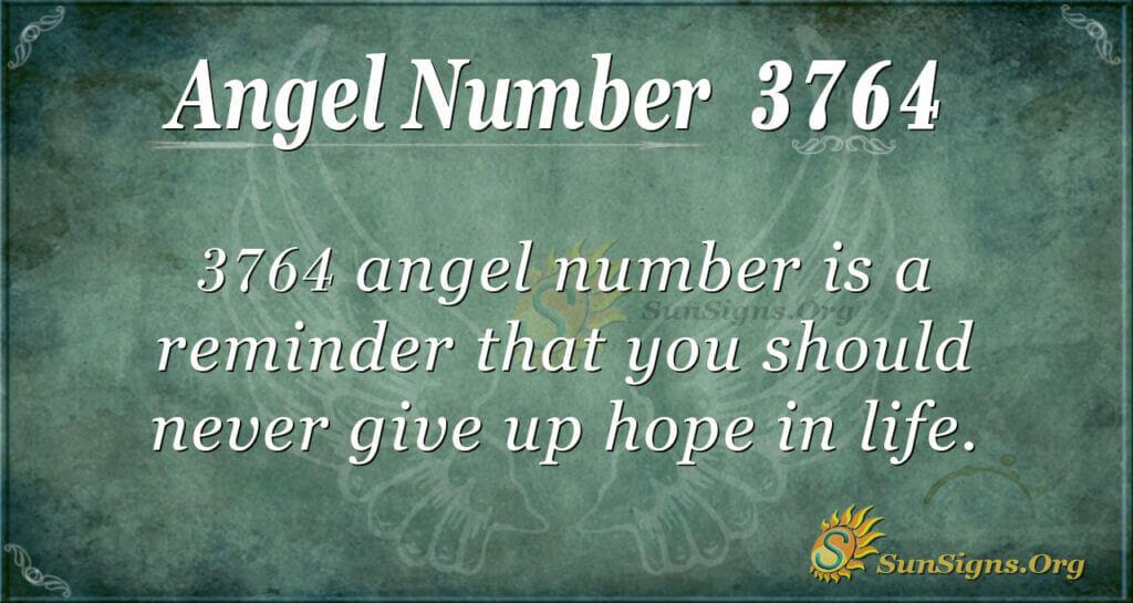 3764 angel number