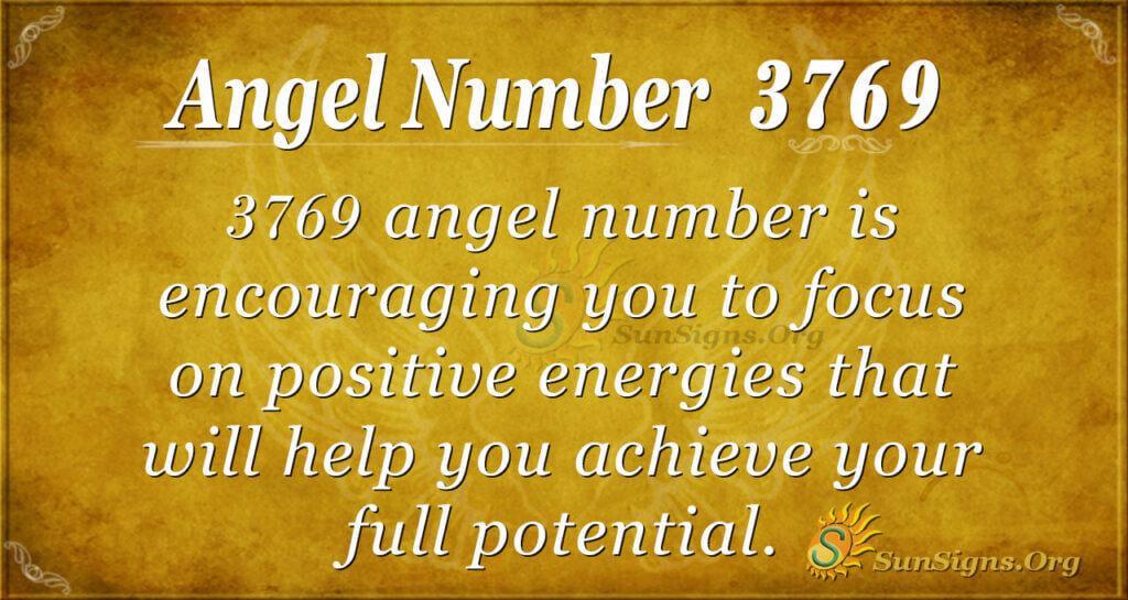 3769 angel number