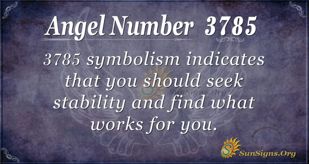 3785 angel number
