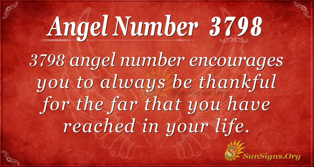 3798 angel number