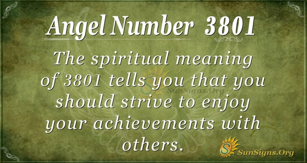 3801 angel number