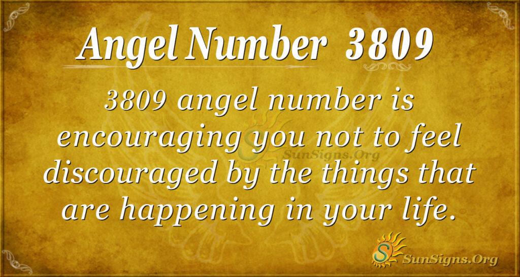 3809 angel number