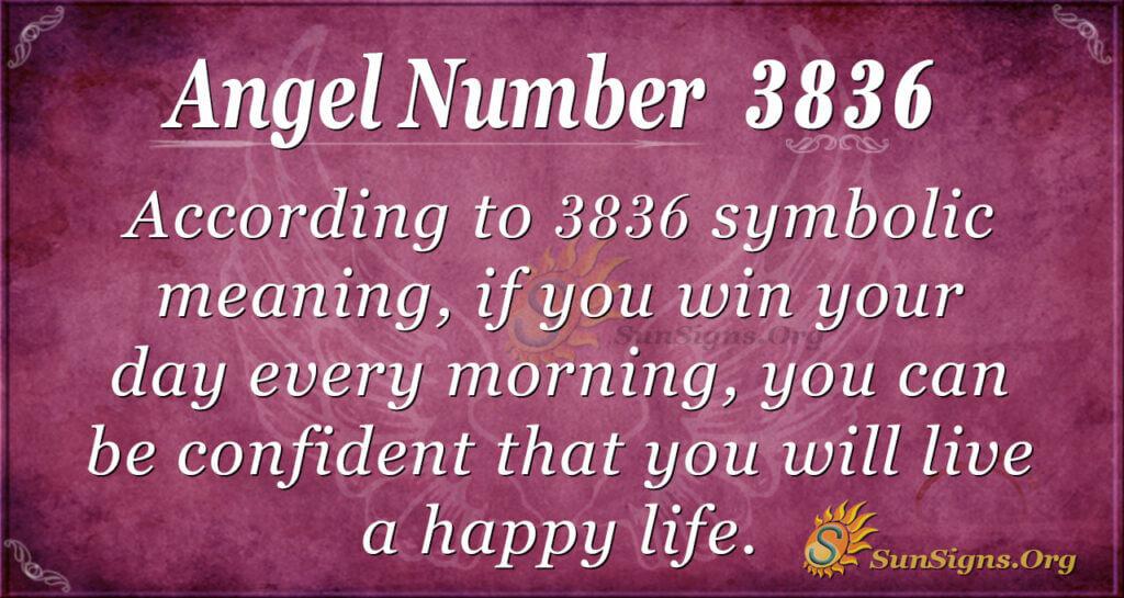 3836 angel number