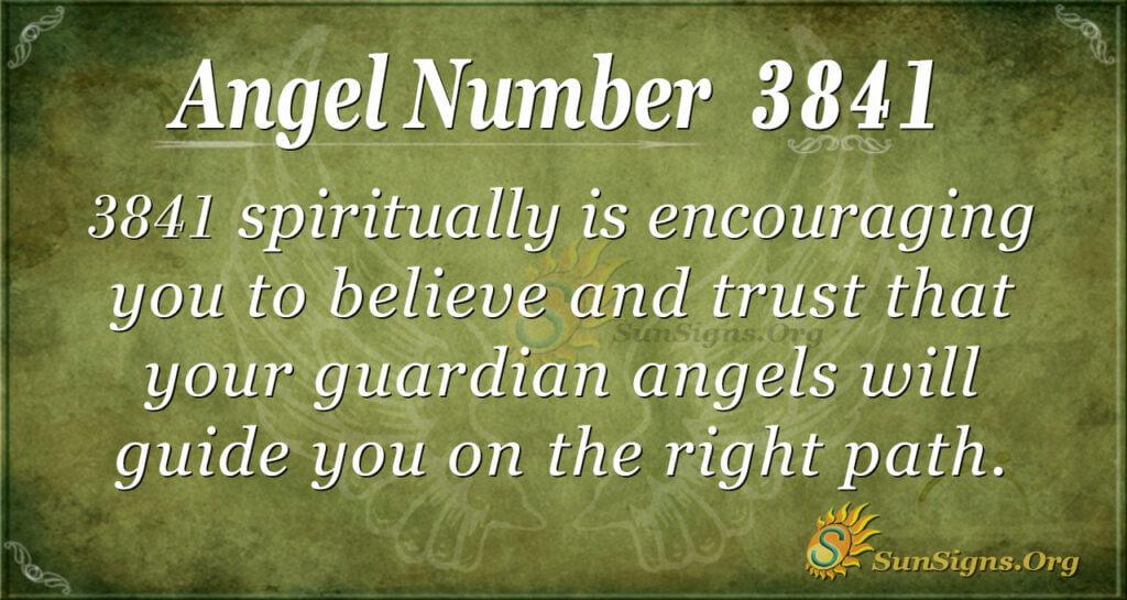 3841 angel number