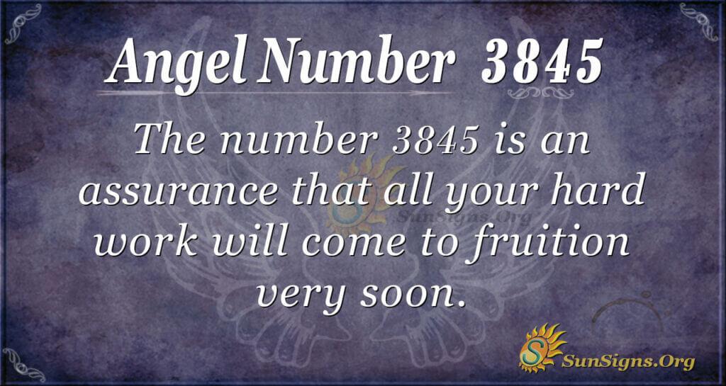 3845 angel number