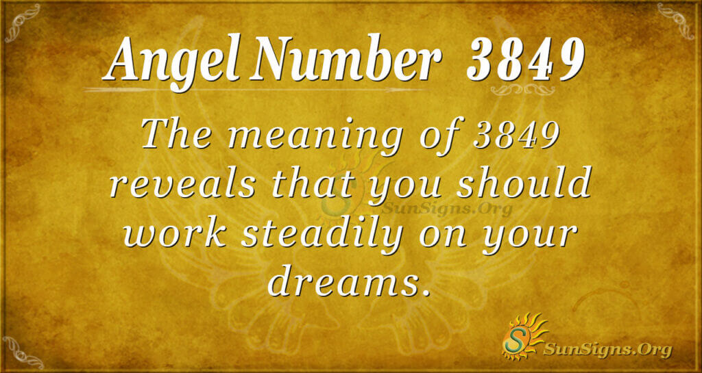 3849 angel number