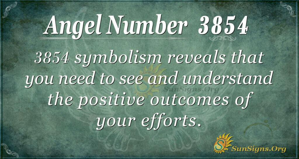 3854 angel number