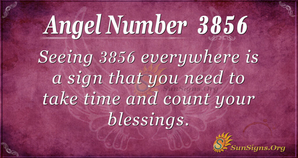 3856 angel number
