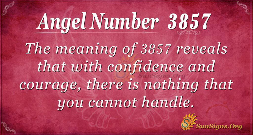 3857 angel number