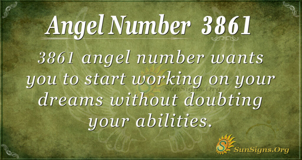 3861 angel number