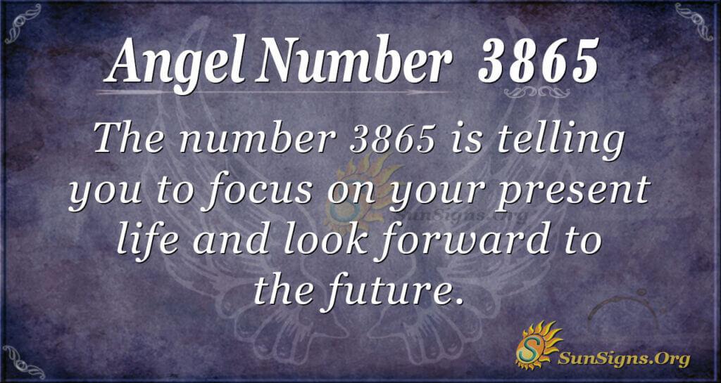3865 angel number
