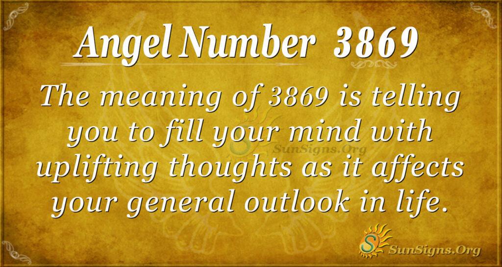 3869 angel number