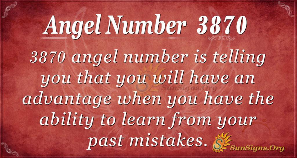 3870 angel number