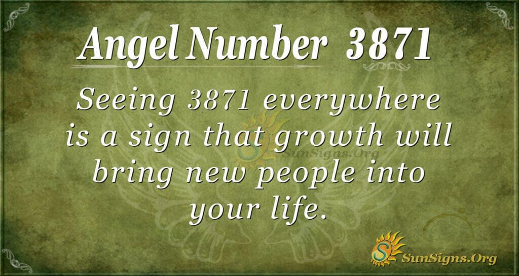 3871 angel number