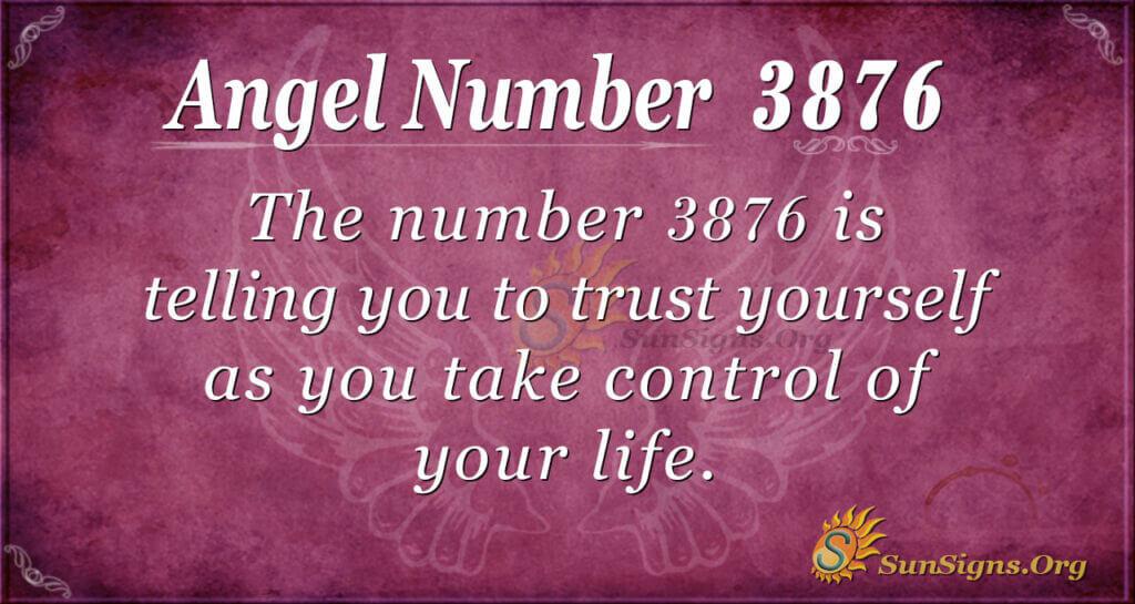 3876 angel number