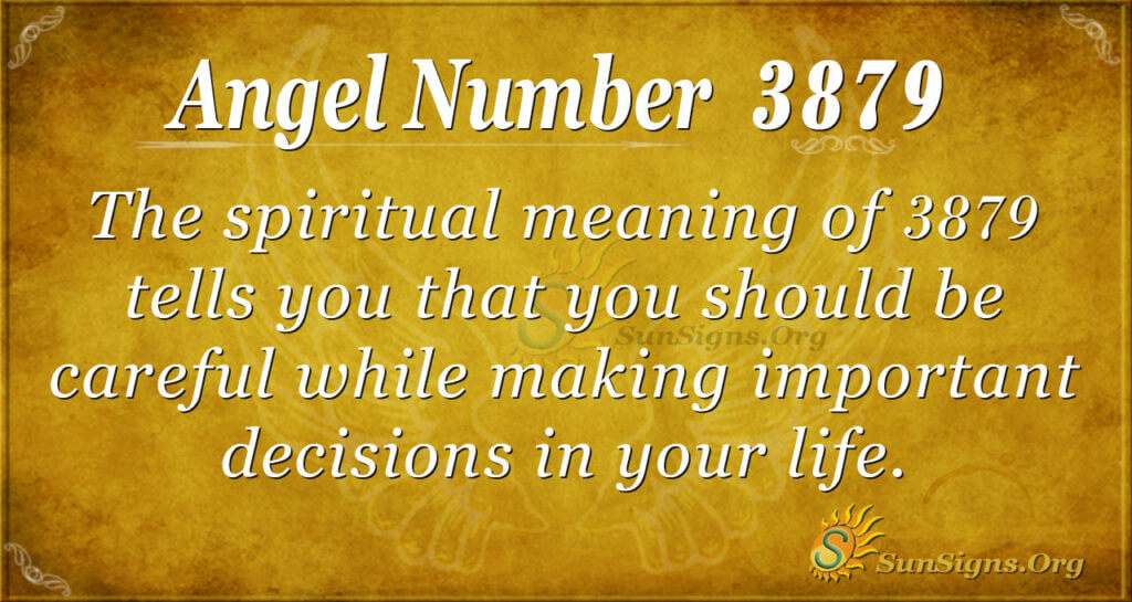 3879 angel number