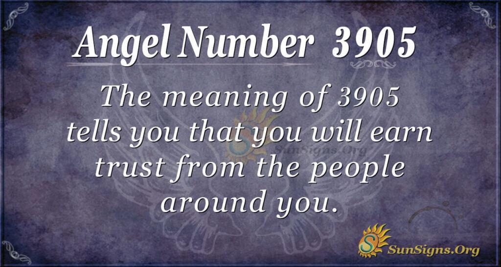 3905 angel number