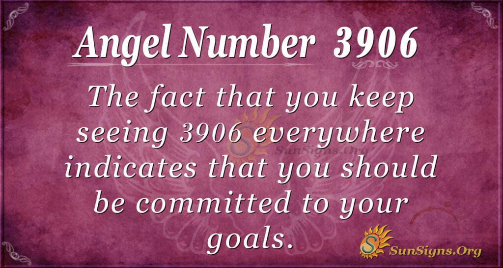 3906 angel number