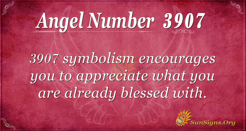 3907 angel number