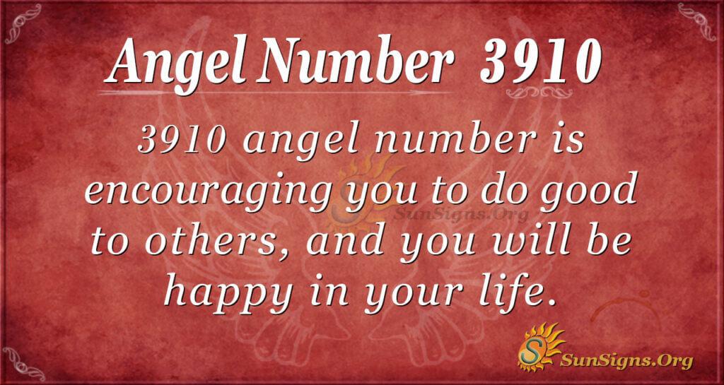 3910 angel number