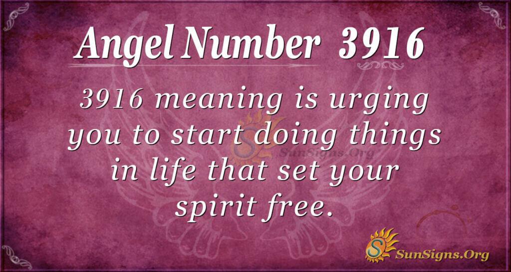 3916 angel number
